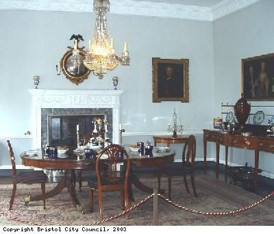 Dining Room In Georgian House