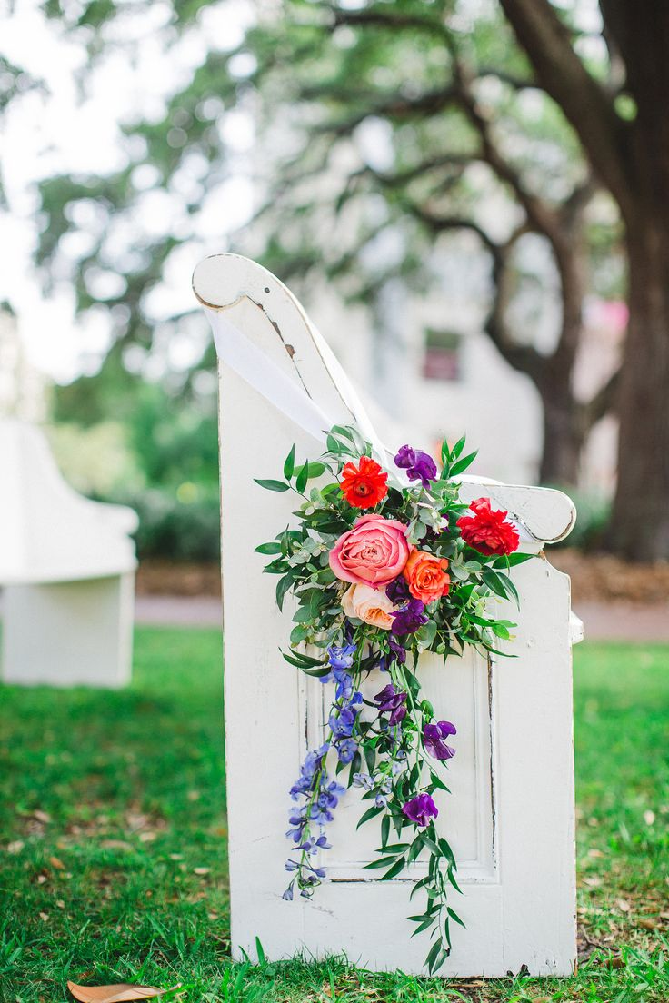 Pew markers for wedding