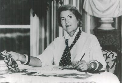 Laura Ashley was a Welsh fashion designer and businesswoman. She originally made furnishing materials in the 1950s.She later expanded into clothing design and manufacture in the 1960s.