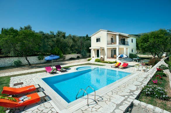 Villa Marily, Kassiopi, Corfu, Greece. Find more at www.villaplus.com
