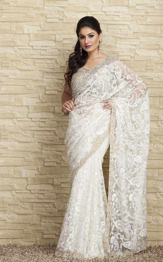 Best 25+ Indian white wedding dress ideas on Pinterest | Indian ...