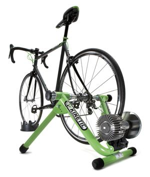 Training indoors is an excellent way to keep fit and maintain your cycling form during cold weather. Stationary cycling trainers can be easily fitted to your own bike. Check out our selection of indoor bicycle trainers