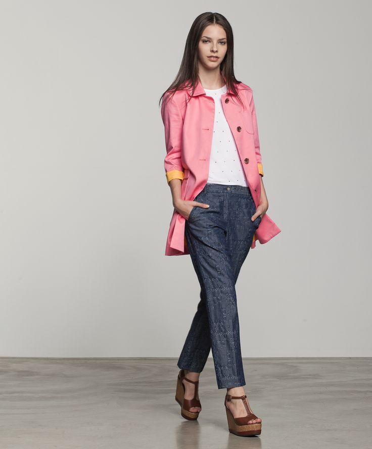 Look #ATPCO ricco di stile e colore.  #Stylish and full of #colour ATPCO #look.