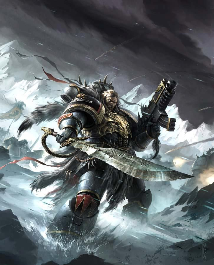 17 best ideas about warhammer 40k space wolves on for Decor 40k