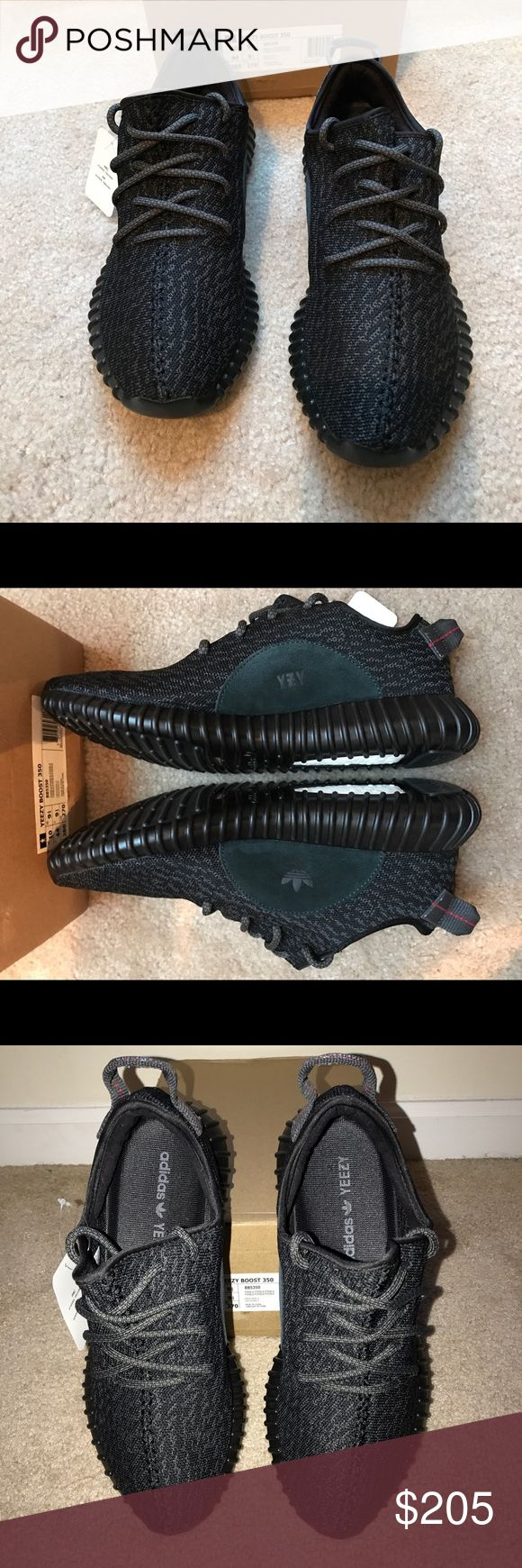 "Yeezy Boost 350 ""Pirate Black"" Yeezy Boost 350 ""Pirate Black""  Men's Size 10 Yeezy Shoes Sneakers"