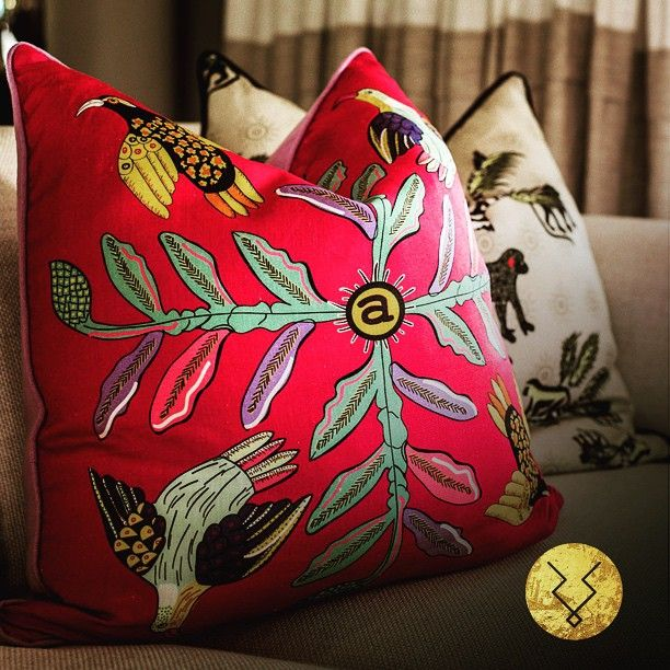 Bright happy colours for spring! - Available from the KuDu Online Boutique. www.kuduhome.com