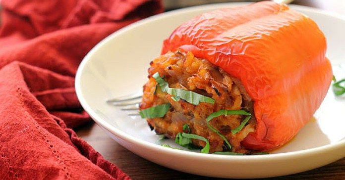 Recept na plněné papriky