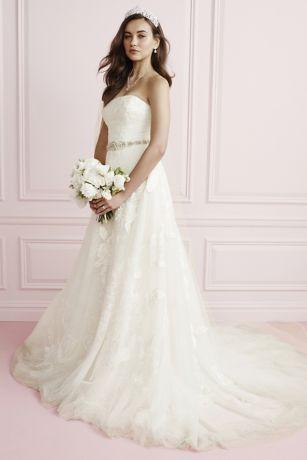 1d167c841d7 Rose Lace Plus Size Ball Gown Wedding Dress