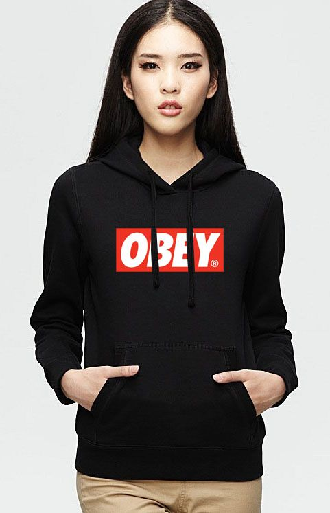 Obey logo Hoodie Unisex Adult size S – 2XL
