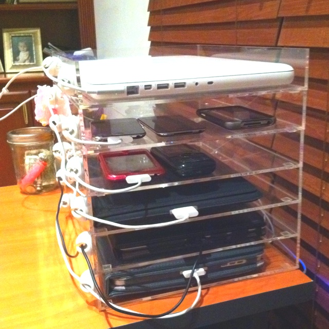 My Homemade Charging Station 12 Best Borne De Recharge Images On Pinterest Organization Ideas