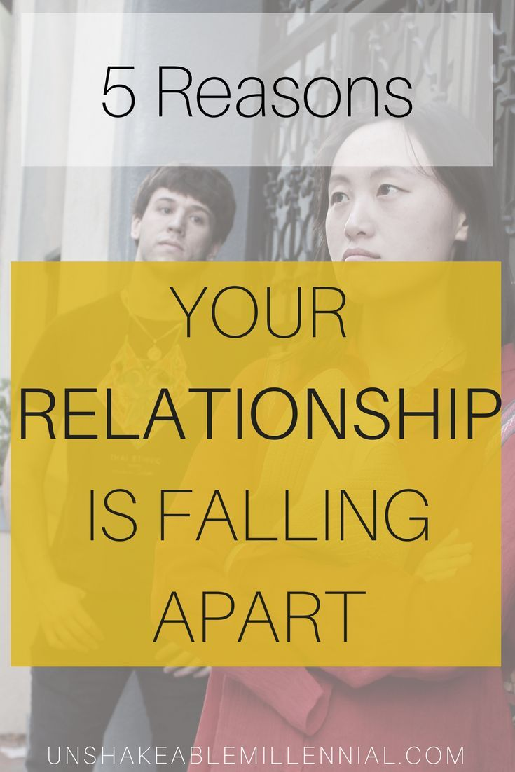 Five Reasons Your Relationship Is Falling Apart Bloggers