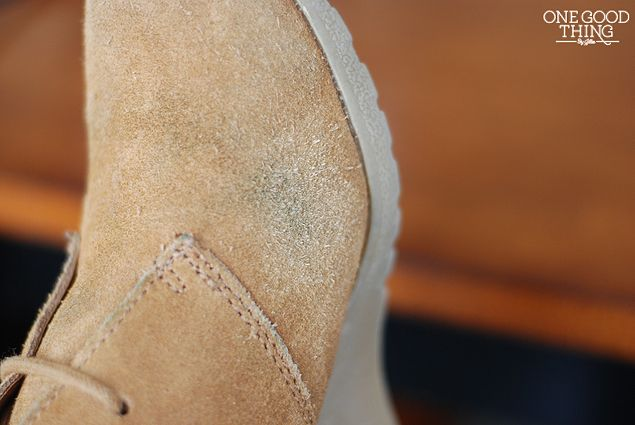 How To Clean Suede - One Good Thing by Jillee