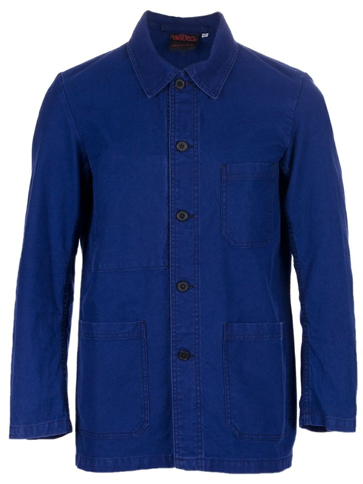 Keep cool this Springtime with the 'Hydron' Worker Jacket by Vetra... http://ow.ly/wsfJu #menswear #springtime #vetra