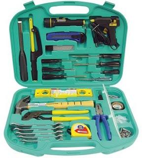 Lista pra um kit básico de ferramentas