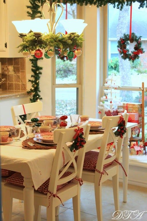 Decor To Adore~ French Country Christmas Kitchen