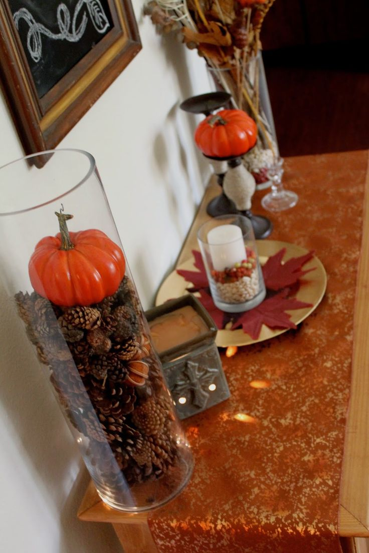 Easy Fall Decor for Small Spaces