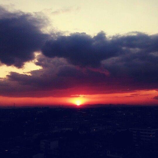 Rojo cielo
