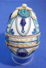 Prachtig ei gedecoreerd door Thera Fletterman