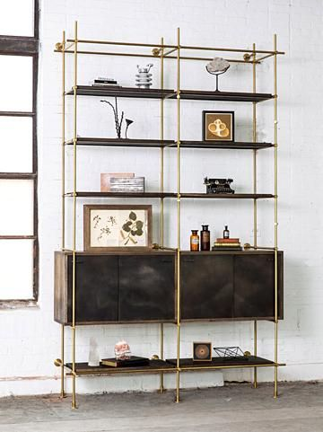The Collector's Shelving Unit from Amuneal /