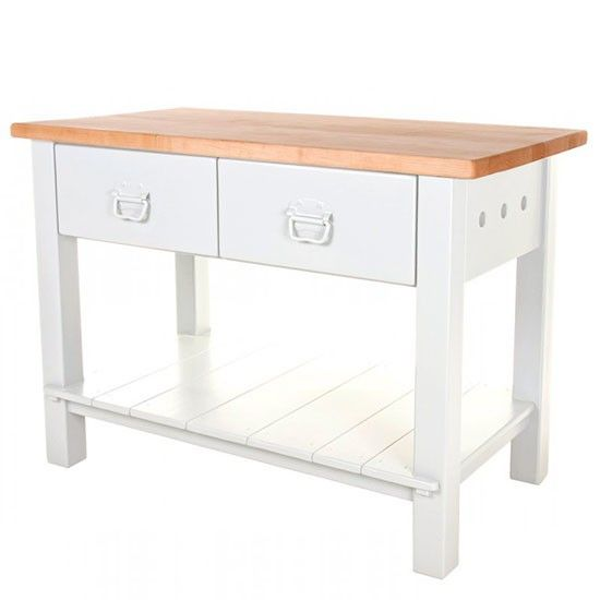 Double Drawer Work Table From John Lewis Of Hungerford Butcher S Blocks Ping Housetohome
