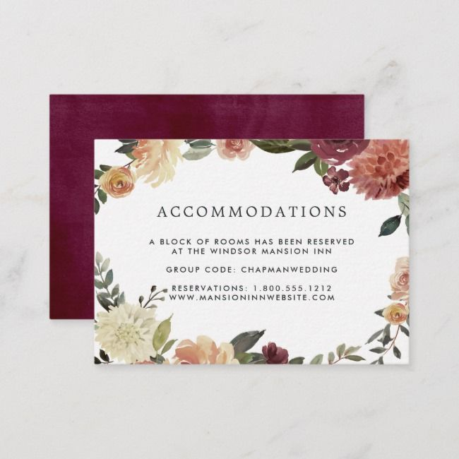 Create Your Own Enclosure Card Zazzle Com Wedding Website Card Rsvp Wedding Cards Accommodations Card