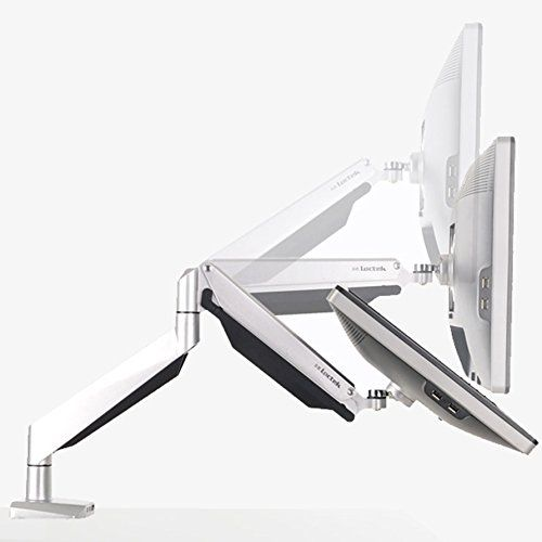 #Accessories This premium single arm computer #monitor mount offers an attractive way to display one monitor while saving the most amount of #desk space. The Arm ...