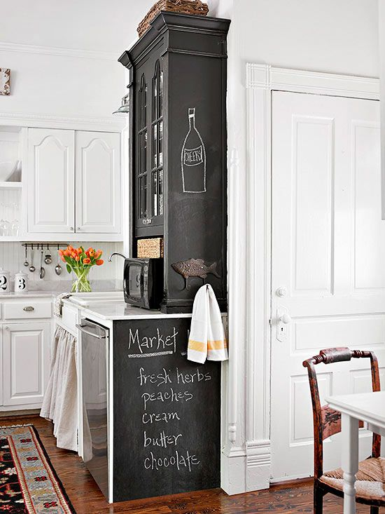 Add beauty and smart function to a small kitchen with these creative ideas. Discover how to add storage, make the most of a small space, and add beautiful design ideas to your kitchen.