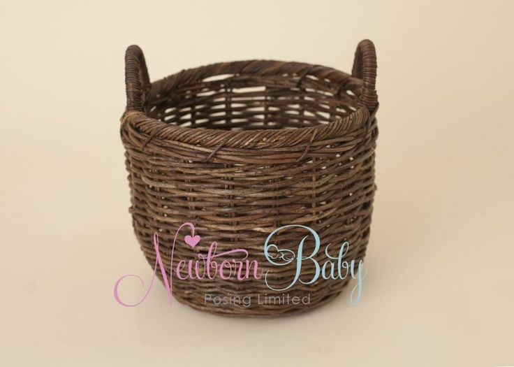 Great deep basket newborn baby posing prop baskets are a great newborn prop and are
