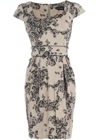 I love how this looks like a sweet floral or toile print, but is actually bugs!