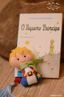Pequeno Príncipe de Feltro, Pocket Pequeno Príncipe de Feltro, boneco de feltro