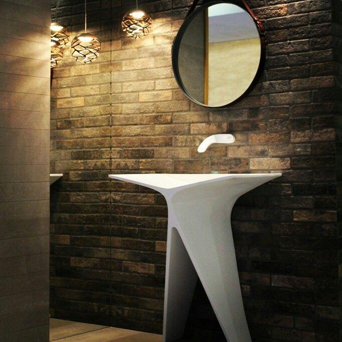 MyBath Silence standing washbasin designed by Mac Stopa  www.mybath.pl  #mybath #bathroom #luxury #luxurybathroom #interiordesign #corian #coriandesign #interiorsinspiration #inspirations #designresearch #designporn #residence