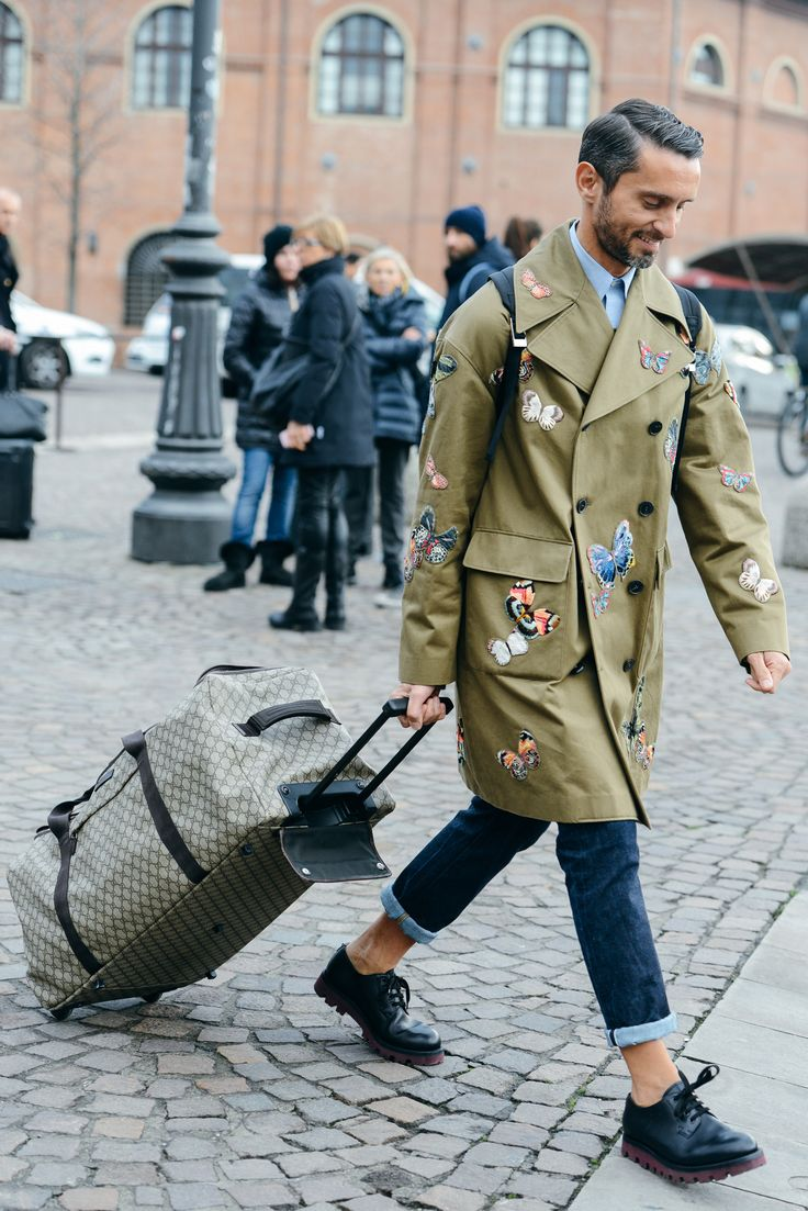 Wild Style: Meet the New Face of Animal Print Valentino's utilitarian flight of fancy makes a street-style cameo at the men's shows.