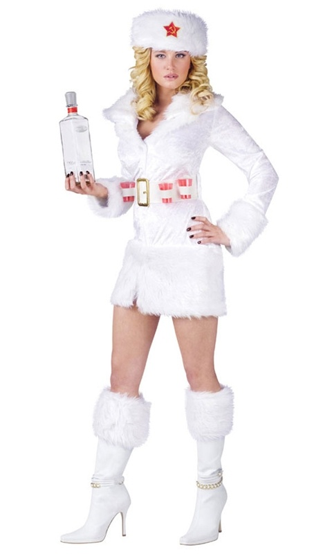 White Russian Adult Costume  #sexy womens costumes #sexy halloween costumes