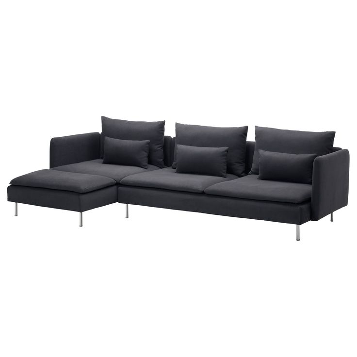 Ikea S 214 Derhamn Sectional 4 Seat With Chaise Samsta