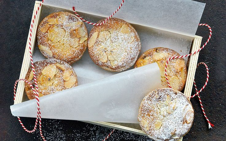 You can't beat this recipe for mince pies topped with frangipane