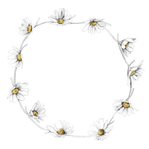 for daisy bracelet tattoo