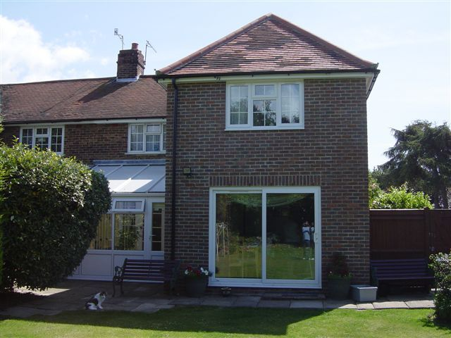 Two storey mid terrace rear extension google search for Terrace extension