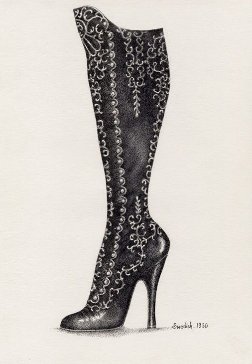 194 Best Images About Drawing Shoes On Pinterest Fashion