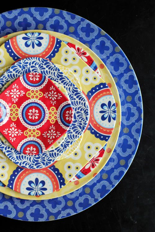 Q Squared NYC Montecito Dinnerware from @This Week for Dinner
