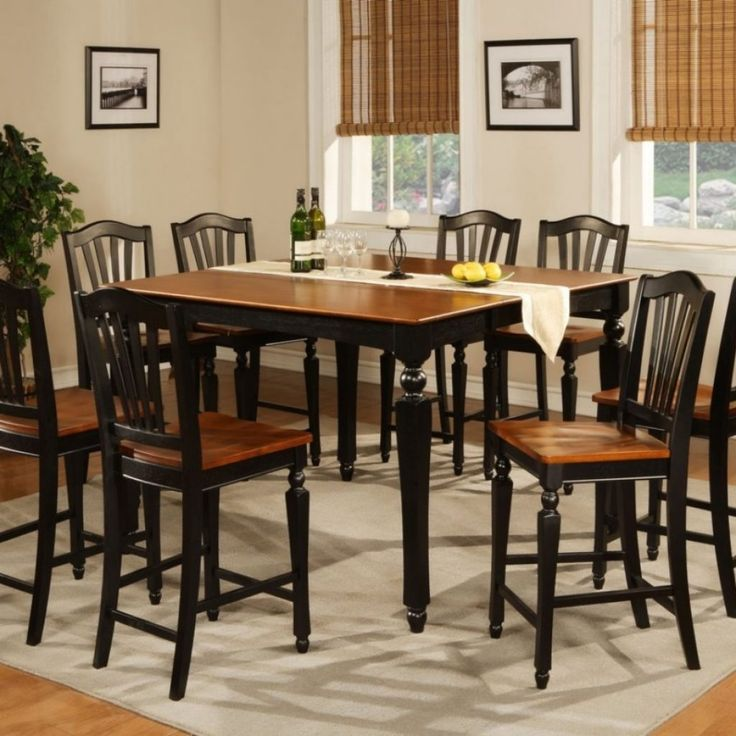 Tall Kitchen Table Sets For 6