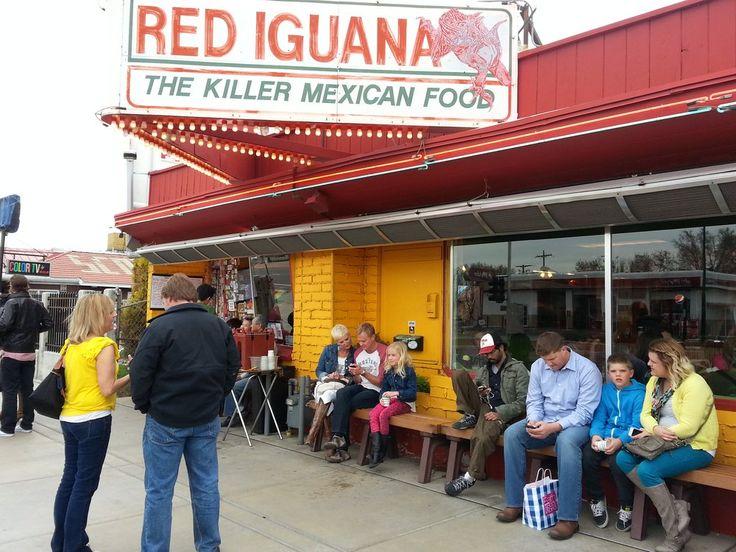 Red Iguana Salt Lake City Ut United States The Wait Outside Mexican Food Recipes Places To Eat Iguana