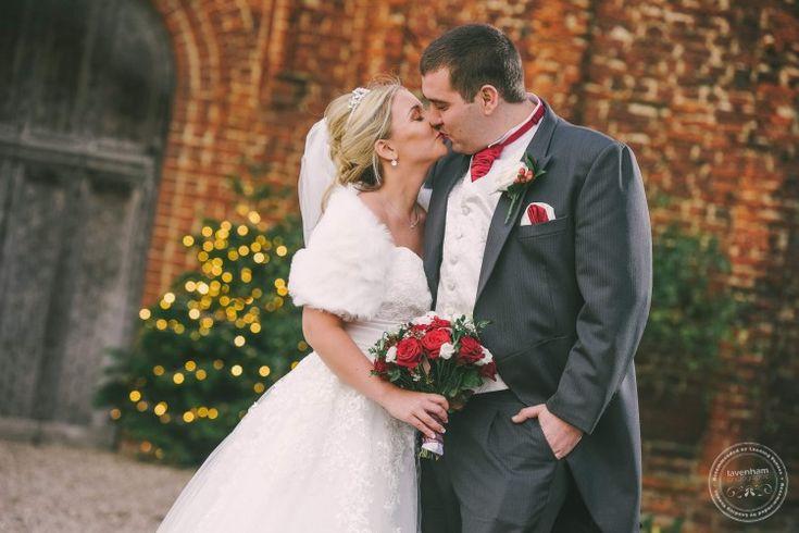 Leez Priory Wedding Photography, Christmas lights behind