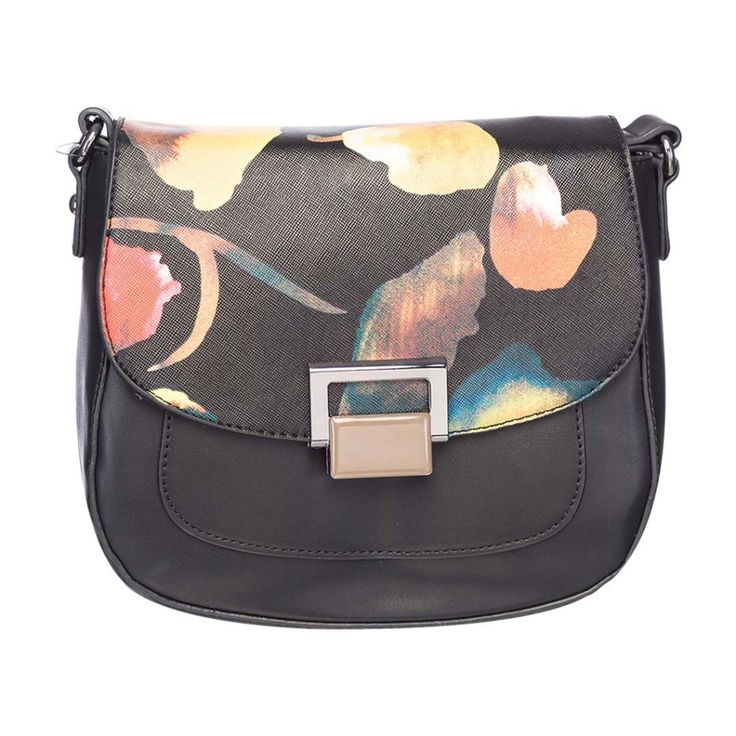 Black PU #Handbag by Elespry at Rs.3000 Only. To Buy Click here> http://buff.ly/1lQZXFH
