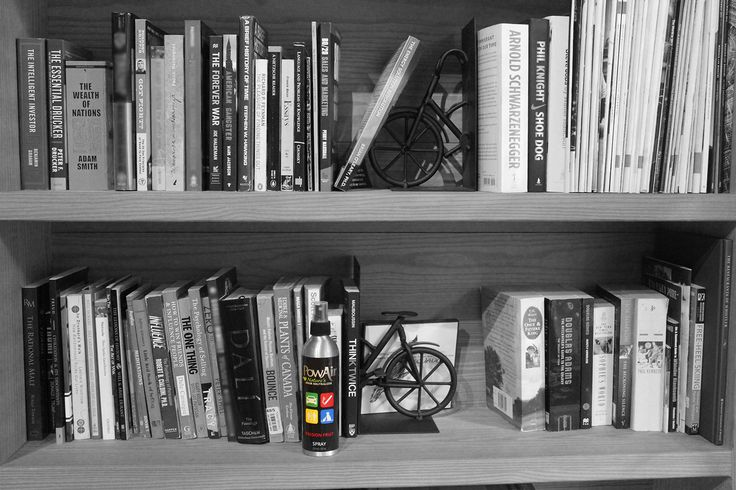What's your bookshelf look like?