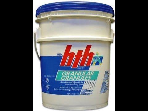 Calcium Hypochlorite: Swimming Pool Chlorine, Pool Shock, Uses