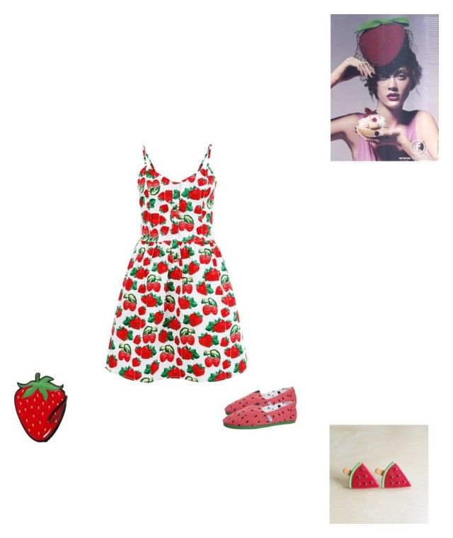 """Strawberries and Watermelon"" by vida-paula on Polyvore"