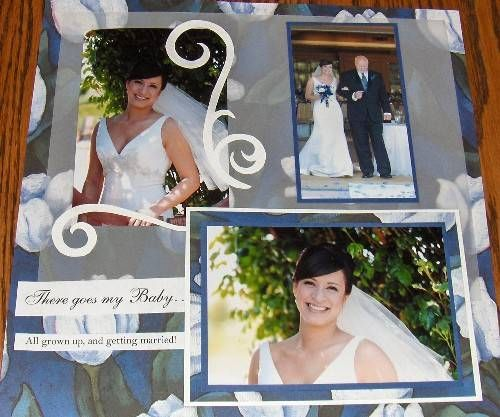 334 best SB - layouts - wedding images on Pinterest | Scrapbooking ...