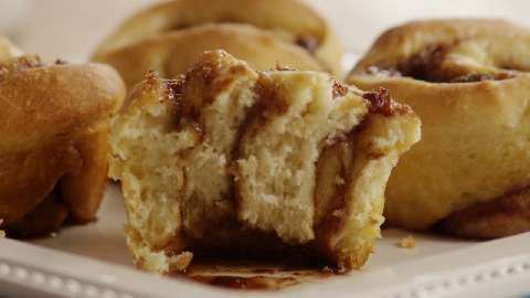 Ninety-Minute Cinnamon Rolls Allrecipes.com