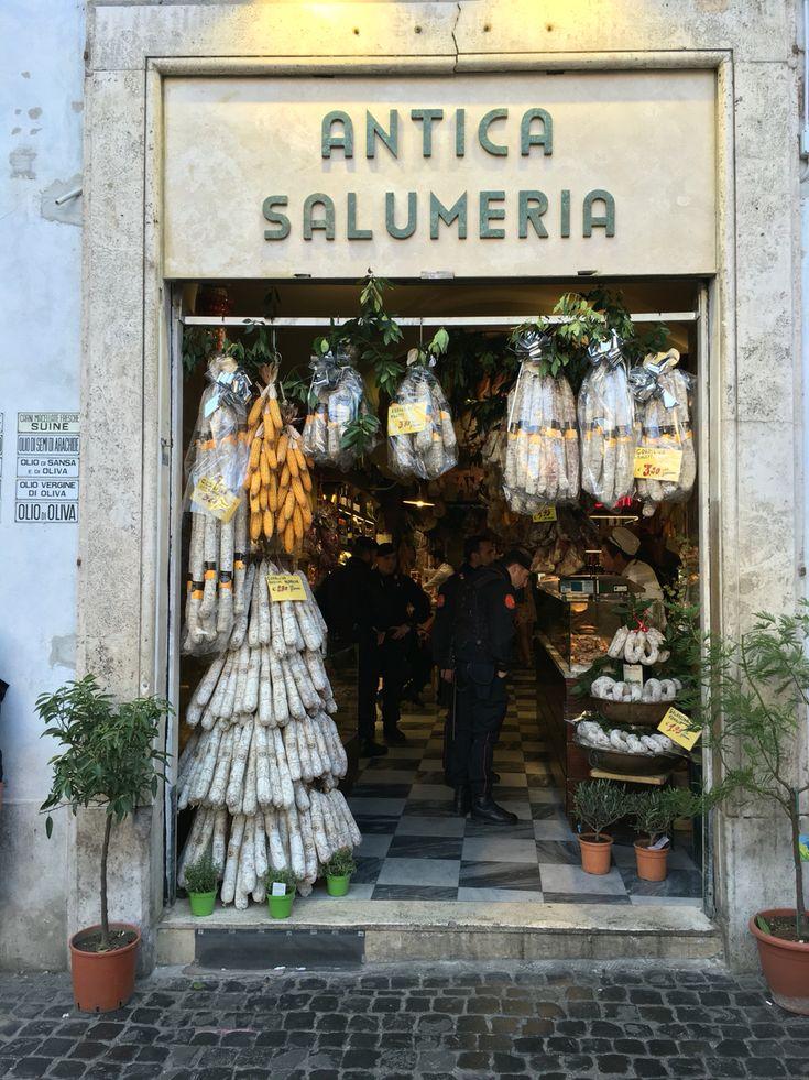 Antica salumeria/pantheon/