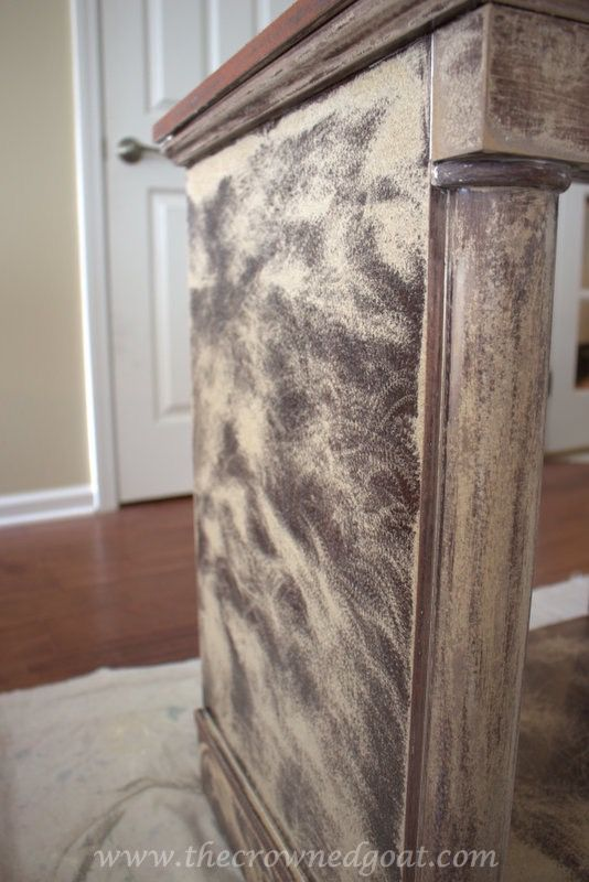 Beginner's Guide to Painting Laminate Furniture - The Crowned Goat